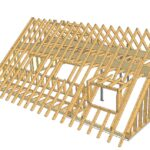 3D Dachstuhl in CAD Planung