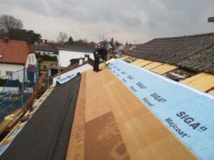 Schritte der Dachsanierung